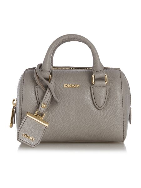 DKNY Chelsea grey mini tote cross body bag