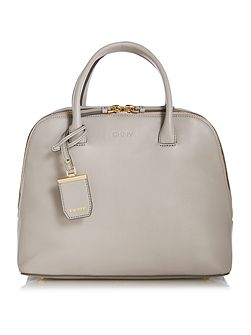 Vanchetta grey dome tote bag
