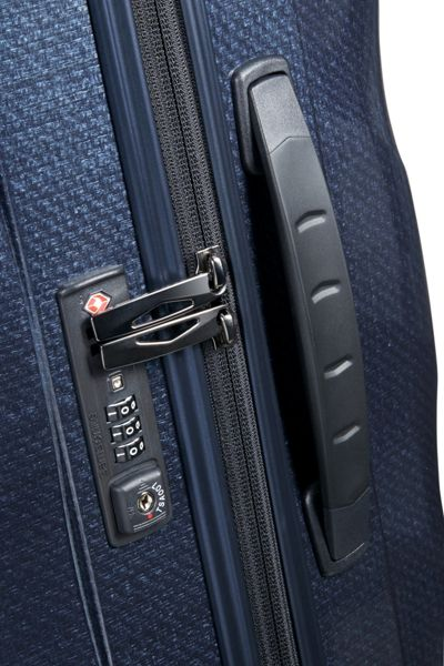 Samsonite Cosmolite 3.0 navy 4 wheel 69cm medium suitcase
