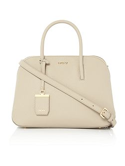 Saffiano small rounded tote crossbody bag