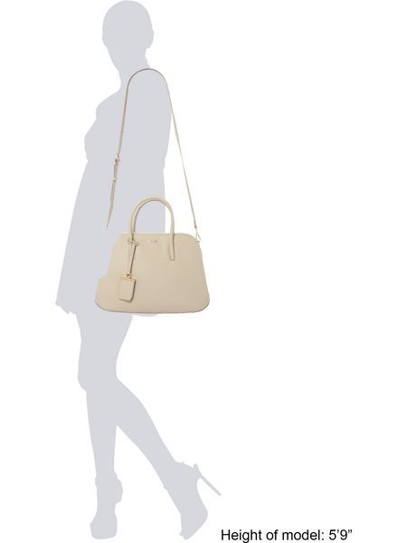 DKNY Saffiano small rounded tote crossbody bag
