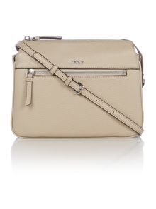 DKNY Tribeca neutral crossbody bag