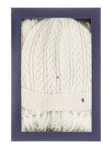 Tommy Hilfiger Luca cable knit set