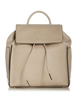 Chelesea neutral medium flapover backpack