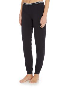 Emporio Armani Visibility stretch cotton cuffed pant