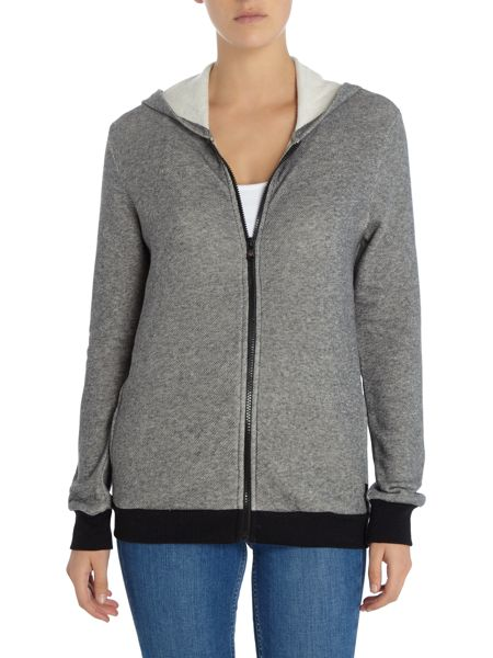 Emporio Armani Visibility gym hooded zip sweater
