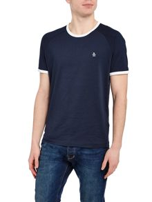Original Penguin Baseball Contrast Neck Short Sleeve T-shirt