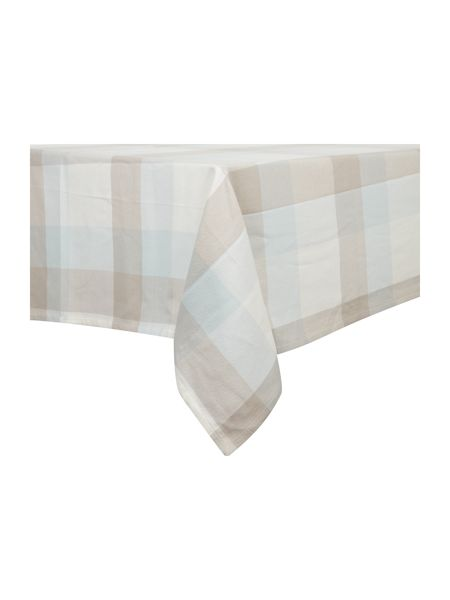 Linea Large check tablecloth 140 x 230