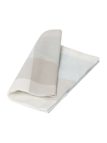 Linea Large check napkins set of 4