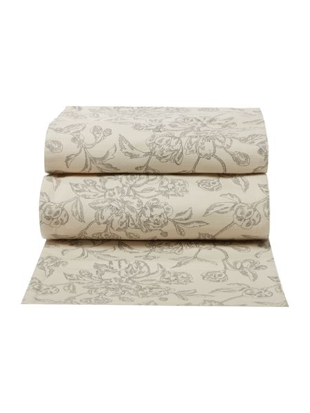 Linea Taupe floral runner
