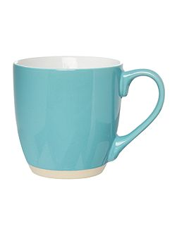 Aquamarine blue mug