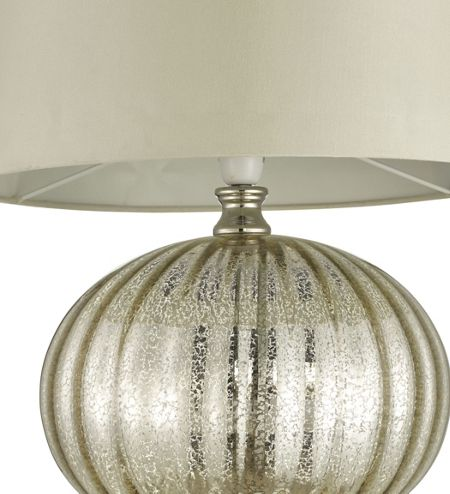Casa Couture Kitty silver table light