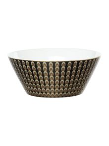 Biba Deco peacock serving bowl