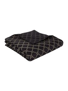 Biba Gold embroidered diamond bedspread