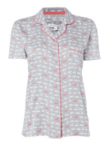 Dickins & Jones Sofia Swan Revere Top