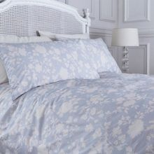 Shabby Chic Antique floral duvet cover
