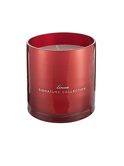 Mistletoe & berries large candle