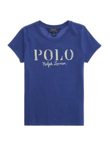 Polo Ralph Lauren Girls Polo Logo crew neck t-shirt