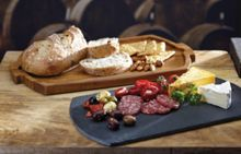 Kitchen Craft Artesa Slate/Acacia Tapas Tray