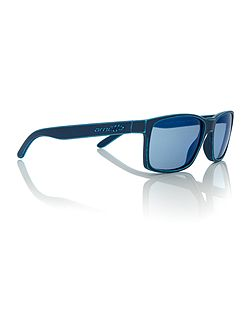 Blue rectangle AN4185 sunglasses
