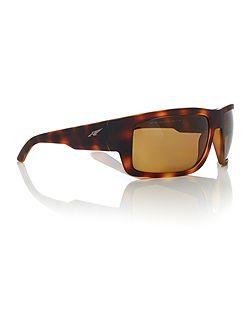 Havana rectangle AN4221 sunglasses