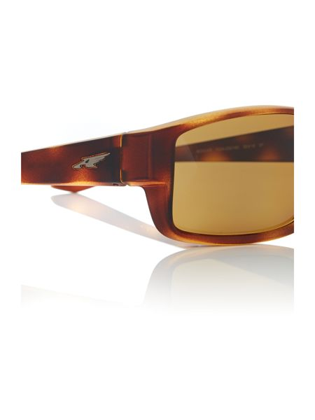Arnette Brown rectangle AN4224 sunglasses