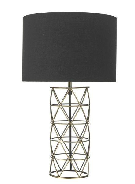 Living by Christiane Lemieux Wentworth Cage Table Light