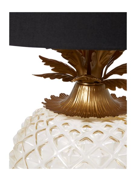 Living by Christiane Lemieux Kiki Glass Pineapple Table Light