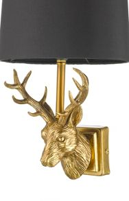 Living by Christiane Lemieux Stag wall light