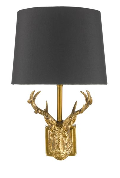 Linea Stag Wall Light