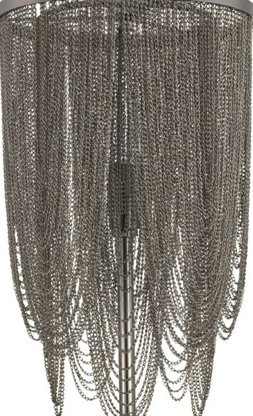 Biba Cristina Metal Chain Table Light