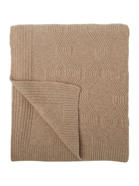 Casa Couture Verona geometric knit throw