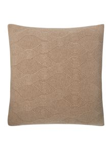 Casa Couture Verona geometric knit cushion