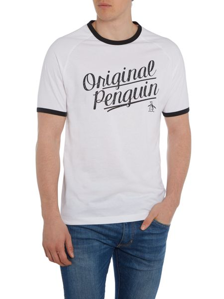 Original Penguin Graphic Logo Crew Neck Short Sleeve T-shirt