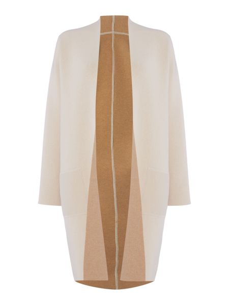 Max Mara Egizio knitted wool coat