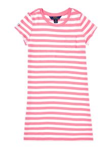 Polo Ralph Lauren Girls Stripe T-shirt Dress