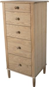 Linea Felix Tall Boy Chest of Drawers