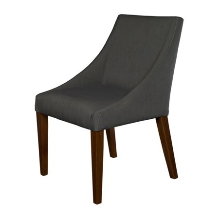 Living by Christiane Lemieux Cleo lemans charcoal dining chair