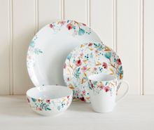 Linea Meadow 16pc porcelain dinner set