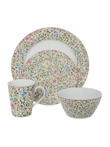 Linea Trellis 16 pc dinnerware set