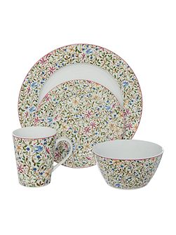 Trellis 16 pc dinnerware set