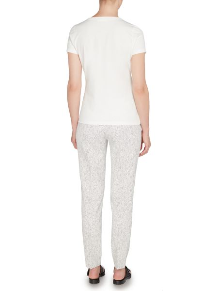 Hugo Boss Acnes6 Polka Dot Tapered Trousers