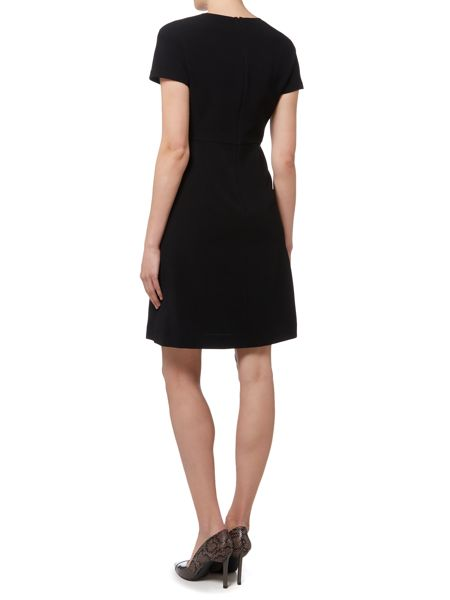 Max Mara Lulu short sleeve dress with pockets