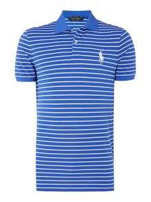 Polo Ralph Lauren Golf Slim Fit Stripe Pique Polo