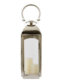 Casa Couture Medium hammered metal lantern