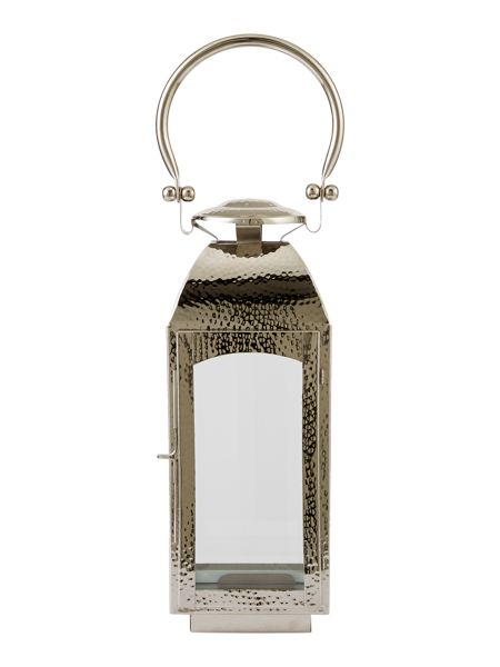 Casa Couture Small hammered metal lantern