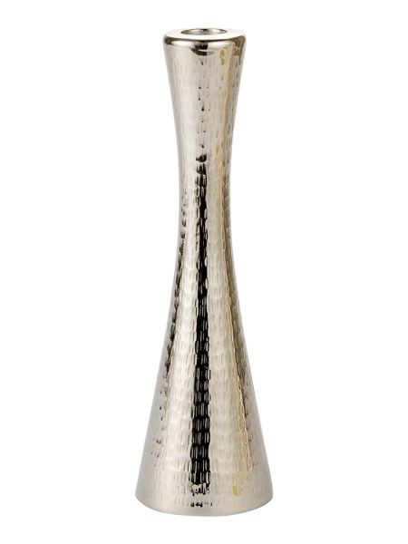 Casa Couture Medium rice hammered  candlestick