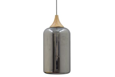 Gray & Willow Electra Electroplate Glass Pendant
