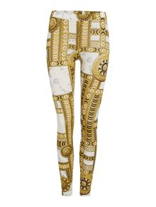 Versace Jeans Printed leggings