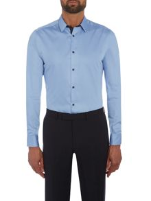 Kenneth Cole Daven slim fit shirt with contrast detail